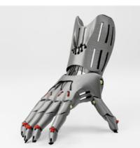 写真の義手は3Dプリンターで作られた義手です。手に麻痺がある患者さんはこれを使用できるのでしょうか?麻痺しているので手指がうまく動かせず、義手を装着しても言い方が悪いのですが意味がないのではないでし...