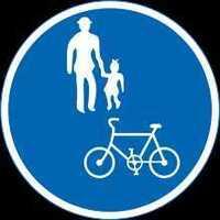 歩行者自転車の標識の意味知ってますか? そもそも歩道は最初から自転車通行可です では、何!? テレビで設置者に聞いてました それは歩道に車が入るから駐車するから、自動車の通行禁止の意味です 自動車が止まりやすい場所に立ってます