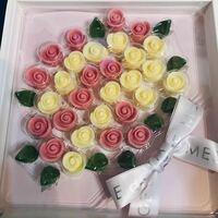 薔薇の花束チョコレート? これどこのお菓子か知りたいです