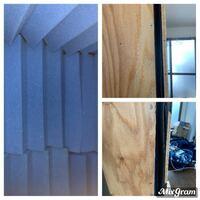 ベニア板と遮音シートと吸音材で防音室を作りましたが、木材の歪みと浮くのとで扉が完全に閉まらないのとうまく防音できません。対策を教えていただきたいです。自分で考えて思いついた防音できない理由は「隙間がで きてるから」です。