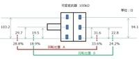可変抵抗器(入力ボリューム用)の、L、Rの抵抗値の違いは、L、Rの音量に大きく違いが出るでしょうか。 抵抗値の測定結果は添付画像の通りです。 実家にあった部品箱から、100KΩの可変抵抗器が出てきました。 40年くらい前に使っていたものです。 COSMOS TOKYO B100KΩ×2 と書かれています。