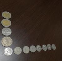 外国硬貨 2ユーロ×1枚 10バーツ×1枚 5バーツ×1枚 2バーツ×1枚 1バーツ×8枚  全て、昔の海外旅行の余りです。  売りたいのですが、価値はありますか?