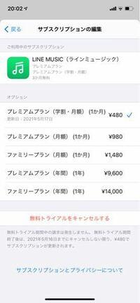 LINEミュージックの3ヶ月無料のをやったんですけどちゃんと3ヶ月無料になってますか?家族のをみたら無料とかいてあって480円にチェックされてませんでした。(中一です。)