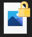 このようなファイルは暗号化されているため複合化しなきゃ開けない。と聞いたのですがどのようにして複合化するのでしょうか?? 方法などを教えてもらえるとありがたいです。 よろしければ教えていただけま...
