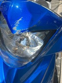 ヘッドライトの傷と、フロントフェンダーの塗装及び先端のヒビ割れの修理をしたいのですが、板金屋だとどのくらいかかりますか?
