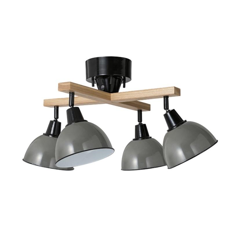 1LDKの部屋に引っ越します。 それに伴い、シーリングライトを購入 しようと思いますが、 カウンターキッチン10.8畳の部屋 (キッチンには別の電気あり)に、 こういう電球4つタイプの電気...