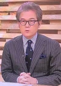 NHK「ニュースウオッチ9」でキャスター、有馬嘉男氏が使用している眼鏡メーカーを教えていただければ幸いです。 ご存じの方は宜しくお願いします