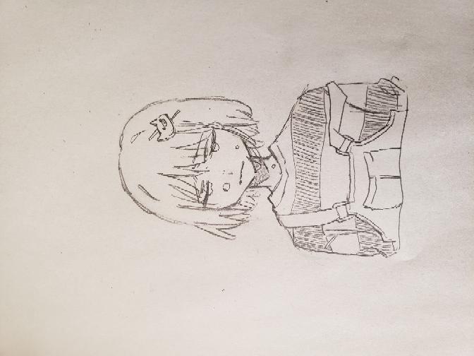 wrwrdのシャオロンさんを描きました。 中学1年なんですけど上手い方ですか? パッと見でお願いします