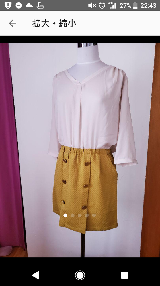 ファッションセンス皆無の私にどうかアドバイスください。 写真のワンピースを購入しましたがスカート部分が意外と短く、膝上27cmくらいになります。しかも足が浮腫んでて太い状態なのでこのワンピースを...