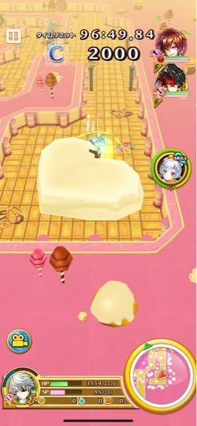 白猫のシュガーリィホームのNIGHTMARE「お菓子探訪」でこの大きいチョコレートが壊せないのですが、壊れるのでしょうか?
