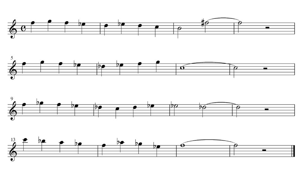 コードに関する質問です 下記の楽譜に 単純でサウンドするコードを付けて戴けませんか https://soundcloud.com/user-625710693/q004