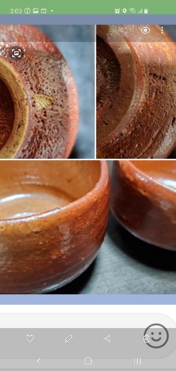 亡き祖母が茶道で使っていたものなのですが、どのような茶碗なのか分かる方はいますか?焼物の種類、誰の作品かなど教えていただければ助かります。宜しくお願い致します。