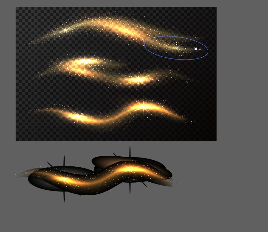 Illustratorをほぼ初めて使うものです。 素材サイトでEPS形式の素材をダウンロードしました。 その素材をphotoshopで使いたいと思っているのですが そのままコピペしようとしても黒...