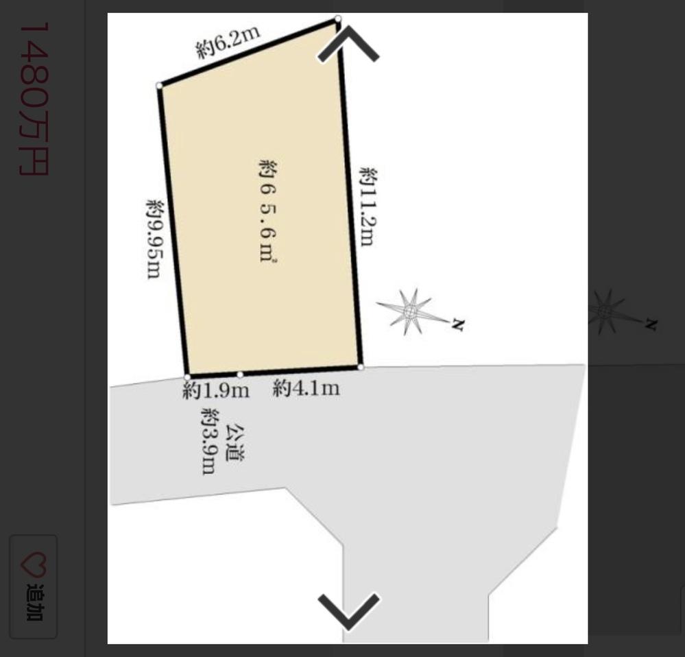 建築に詳しい方いらっしゃいましたら教えて下さい。 建坪率40 容積率80 この条件で、この土地に4人家族で住めるような間取りはありますか?? 駐車場も欲しいです。