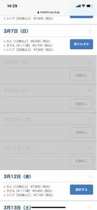ユニバーサルスタジオジャパンの WEBチケット売り切れている場合、当日券はその場で買えるのでしょうか?