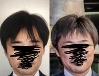 上場企業の役員として相応しい髪型はあるのですか? 最近上場した会社で、取締役の方の髪型が以前は坊っちゃん刈りがそのまま伸びたようなヘアスタイルで、前髪が目にかかり眉毛も手入れしてない濃い太い眉でしたが、上場してからは眉も細くなって前髪もバッサリ切って短くなっています。  これは上場企業の役員として自覚して身だしなみを整えたのでしょうか?  写真左→右のように変わっていました。ちなみに本...