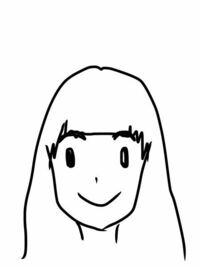 再来週に舞台に行くので張り切って前髪切ったら切りすぎました。最悪です。オン眉寸前です。2週間で髪の毛はどれぐらい伸びますか?簡単なイラストにするとこんな感じです。