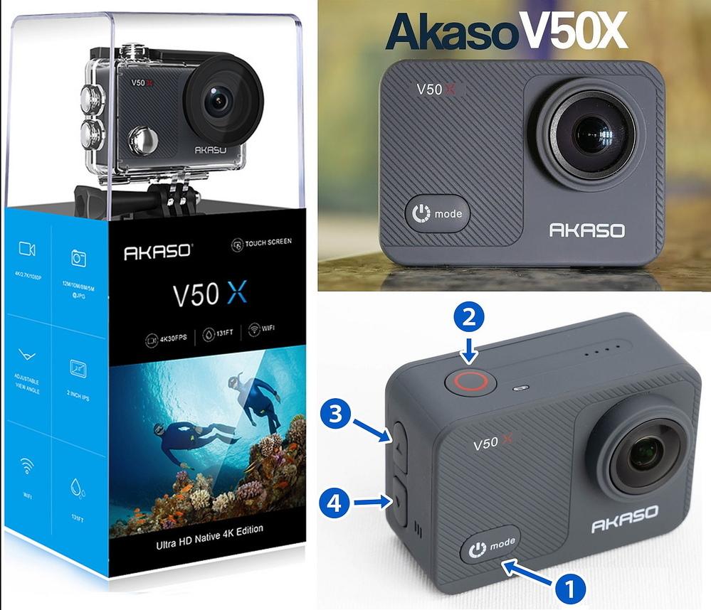 AKASO V50X と言う アクションカメラ をメルカリで買ったのですが 撮影はできたものの、動画再生の仕方が解かりません。 これまでキャノンやSONY のコンデジで動画撮影してたので アクション カメラは初めてなので勝手が違ってわかりません。 play memories、 Quick Time、windows media player などでは再生 できないのですが、どうやって再生する...