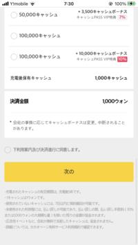 カカオページのキャッシュというのを購入する仕方がわかりません。 ①1000ウォンするそうですが日本円では100円か95円らしいですが本当に100円で購入できるんですか? ②購入するにはクレジットカードの他にあるでしょうか? ③購入の仕方を教えてください  質問が多くてすみません!
