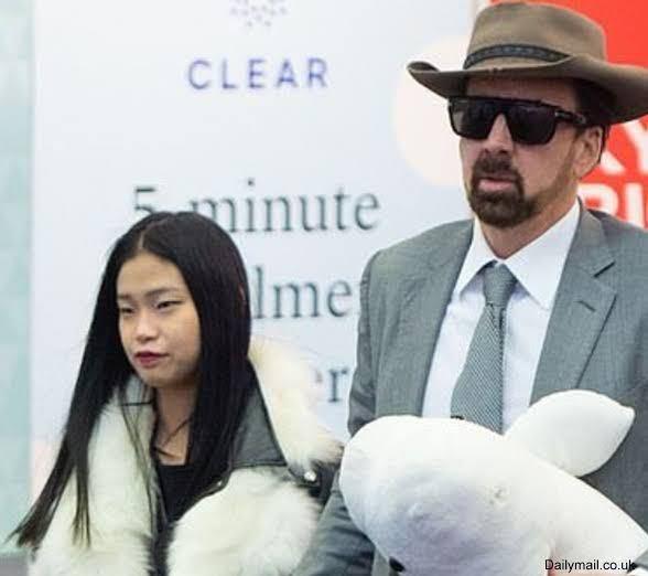 ニコラスケイジの嫁の日本人女性 どう思いますか?笑 ルックス