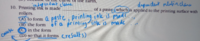 英語 文法問題 TOEFL こちらの問題はAからDで空欄に合う記号を答える問題です。 私は答えがどれか分からなかったのですが、どうやら答えはcらしいです。メモの意味も分かりません。 何故なのでしょうか。理由を教えてください!