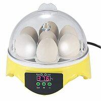 チャボと烏骨鶏の有精卵の孵化を添付写真の孵卵器にておこなっています。  この孵卵器の有精卵の据え置き位置について教えてください。 写真では卵の尖った方が上、 丸い気室側が下となっています。  ①写真の示す据え置き方法ですと、転卵はどの様に行うのでしょうか? ②写真の示す据え置き方法は違うのではないでしょうか? ③チャボと烏骨鶏の卵は小さいので横向きに寝かせて孵卵器に据え置き転卵(6時間おきに...