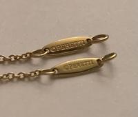 こちらのティファニーバイザヤードネックレスの刻印はどちらか偽物でしょうか??  #ティファニー #バイザヤード