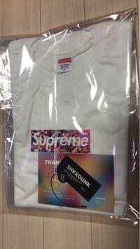 スニーカーダンクでsupremeのTシャツ買ったのですが、これはさすがに本物ですか?