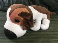 このイヌのキャラクターの名称を教えて下さい。 リサイクルショップで買ってきた縫いぐるみなのですが、何らかの名称が付されているキャラクターらしいので。