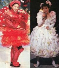 アイドル時代の小泉今日子さん、松田聖子さん どちらの衣装が好きですか?