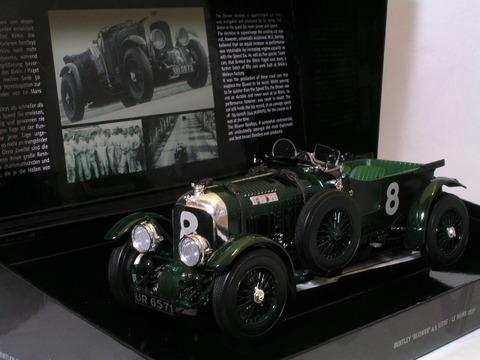 Minichamps (ミニチャンプス)製 1/18スケール Bentley Blower 4.5 liter Le Mans 1930 (ベントレー・ブロワー 4.5リッター ルマン 1930年モデル) 上記のミニカーを新品で、海外から約9万8千円で購入し 今まで大切に保存してきました。 他に欲しいコレクションが出てきたので このミニカーをヤフオクに出品しようと思いましたが どこにも、...