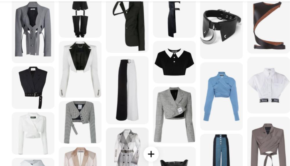 とっても個性的な服のブランドを教えてください❗ 値段は全体的に1~3万くらいで、モノトーン系やシンプルな色でお願いします。 (MIU MIUとかBALMAINが好きですが、これらは高すぎるので・・・) 好きなブランド↓ ADER error UNDER COVER GUCCI BALENCIAGA BALMAIN grounds MIU MIU (写真)こういうのが好きです^^