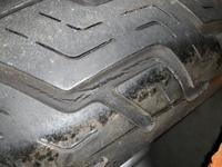 バイク初心者なのですが2月の最後に納車したばかりの中古バイクのタイヤがひび割れていてこのひび割れは危ないものでしょうか? できるだけ詳しく教えていただきたいです。