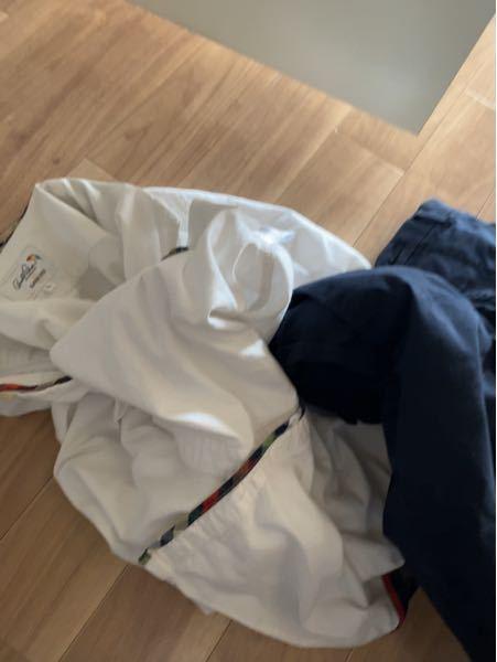 こういう白と色がついてる洗濯物は原則分けて洗ったほうがいいのでしょうか また大丈夫な服とかあるのですか?