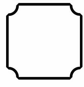 Photoshopで下記の枠線を作る方法を教えてください。