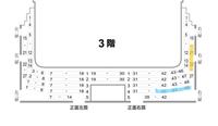 新橋演舞場 座席について質問です。  3階右列18-22 3階4列目40-48 この二席の見え方(メリット・デメリットなど)を教えて下さい。また、結果どちらかがいいかなども記載して頂けると助かります。  是非回答宜しくお願い致します。
