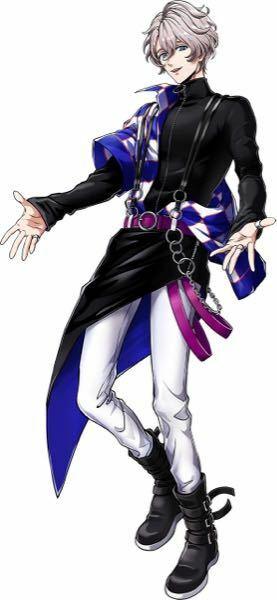 服(コスプレ)に関しての質問です。 この写真のキャラクターが着ている服や靴に類似している衣装がありましたら、教えて頂けると幸いです。 ベルトやチェーンなどは用意出来るので大丈夫です。どうぞよろしくお願いします。