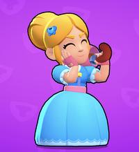 くだらない質問です  ブロスタというゲームにエリザベスというキャラクターがいます。 このキャラクターの特性は「遠くにいる敵ほど攻撃力が高くなる」ということです。  実際に遠くにいくにつれて攻撃力が高くなる武器は存在しますか?