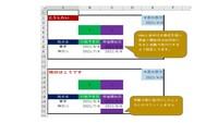 ■エクセル、色付セルのカウント方法? VBAと条件付き指定を使い、色付セルをカウントするようになったのですが、 手動で色付けしたセルだけカウントします。  条件付き指定で設定した自動で色付きさせたセルもカウントする方法をご存じの方、よろしくお願いいたします