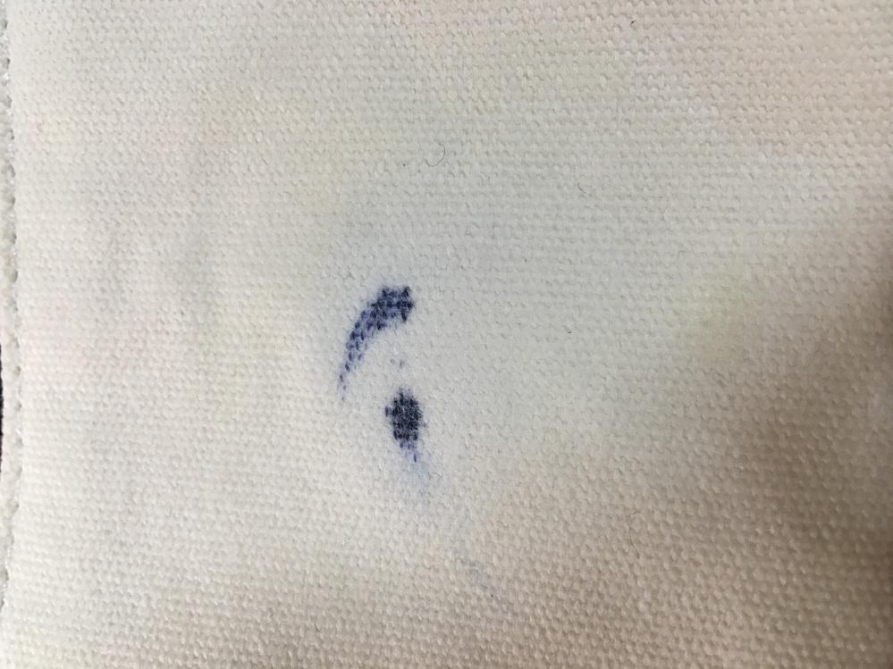 布製の筆箱にホワイトボードマーカーがついてしまいました。消毒液や除光液は使いましたが、色が一切落ちません。 落とし方を詳しくお願いします。。(布にインクをうつす方法は、筆箱の中が別の素材になっているので、出来ません。)