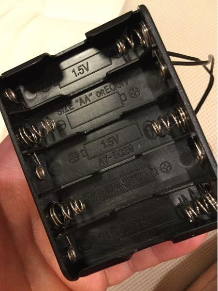 並列繋ぎができる電池のボックスはありますか?
