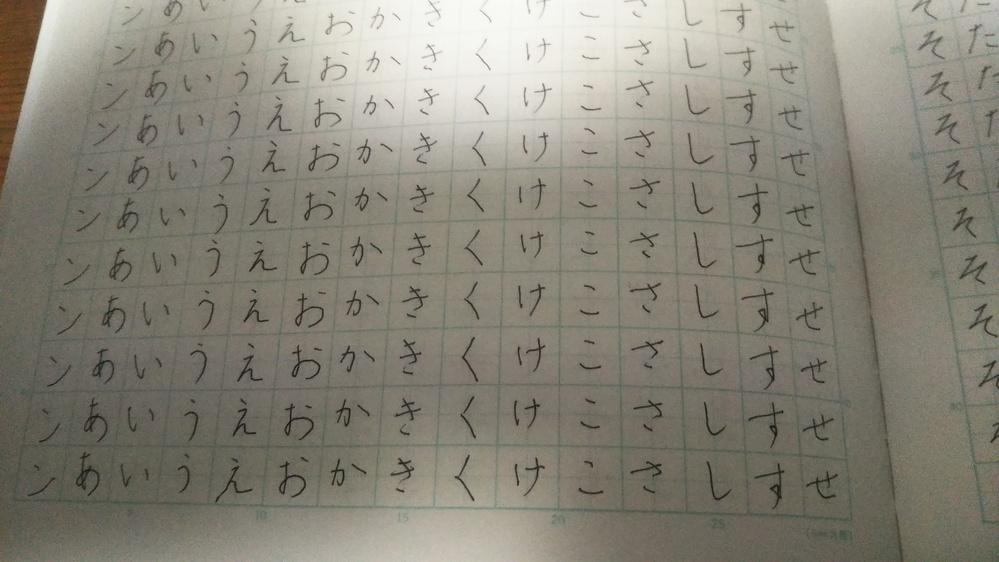 ペン字の練習を始めて三日目です。何かコメントください。