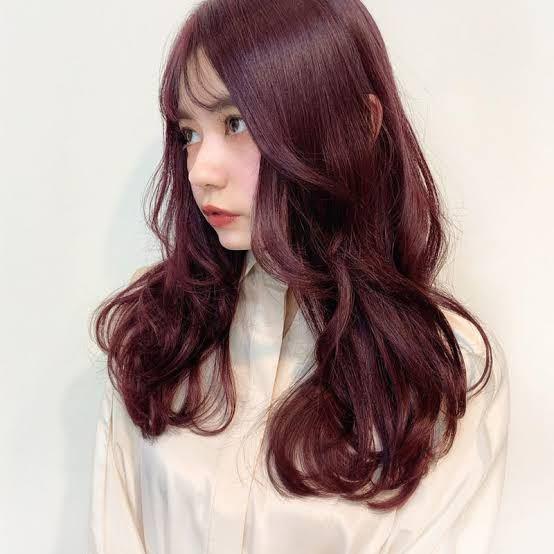写真のようなレッドブラウンという髪色にしたいのですがいくつか質問させてください<(_ _)> ・ブリーチは必要でしょうか? ・色落ちはやいですか? ・会社にこの髪色でいっても大丈夫ですかね?(髪染めはOKです。明るい茶色なら会社にも数名居ます。) ・写真くらいのレッドブラウンじゃ赤すぎでしょうか?