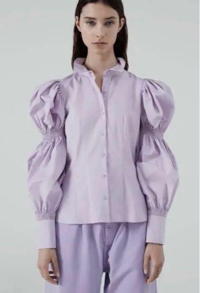 こういう袖がキュッキュってなってるシャツ?てなんていうんですか?