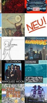 この画像のアルバム名を教えてください テレビジョンとノイとローゼズは分かってますので大丈夫です