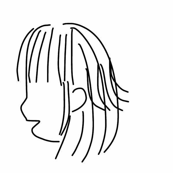 髪を下ろしたら、中間の枝毛が凄いです。(語彙力) 毛先がパサパサなのではなく、髪の毛の真ん中の所がぴょんぴょん出てる感じです。(下の絵の通りです)絵下手ですみません笑 毎日髪を結んでるのも影響するのかなと思うんですけど、学校の規則なので下ろすことはできません。 リンスーを丁寧にしたら治るかなと思いましたが、治りませんでした。 毎日寝癖が酷くてヘアアイロンしているのも影響していると思いますが…。 ボ