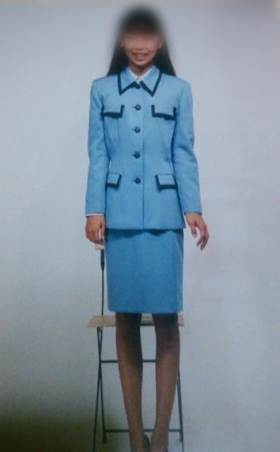 会社の新しい制服です。 どう思いますか?