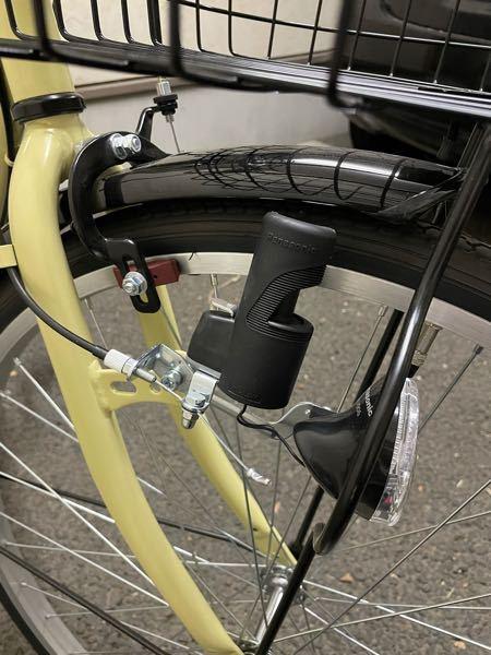 自転車のライトの点け方が分かりません。