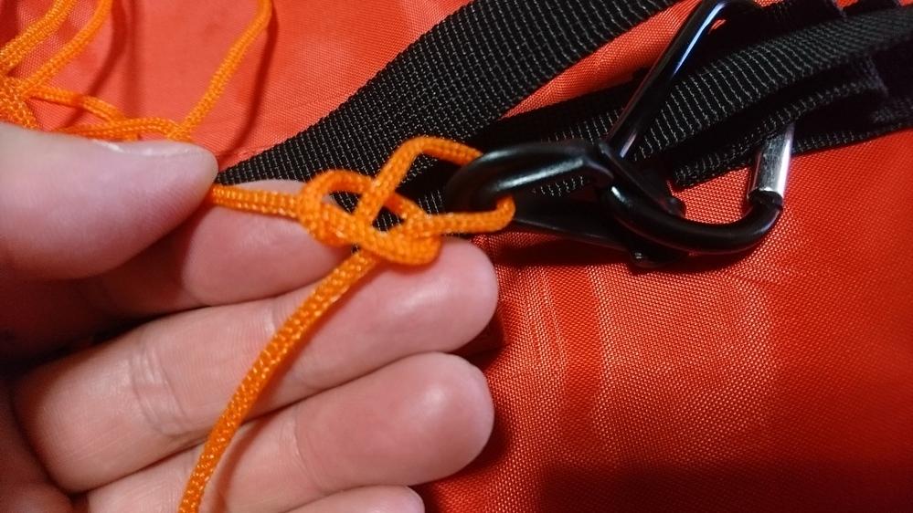 このロープの縛り方は何て名前ですか?
