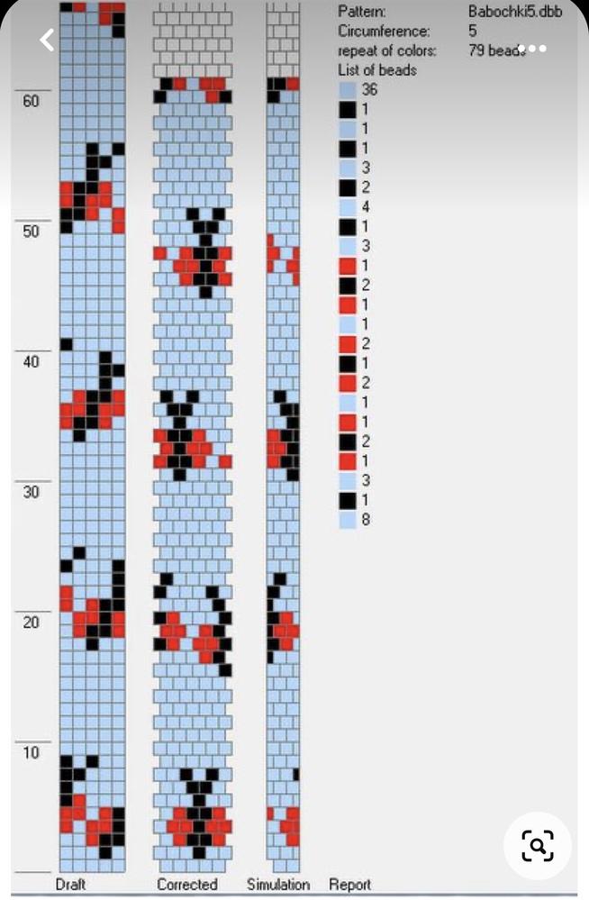 チューブクロッシェの図案ソフトについて。 チューブクロッシェに詳しい方に教えて欲しいです! 画像の図案ソフトはどのように入手できますか ️ スマホでも使用できるのでしょうか? 詳しく教えてください。 よろしくお願いします!